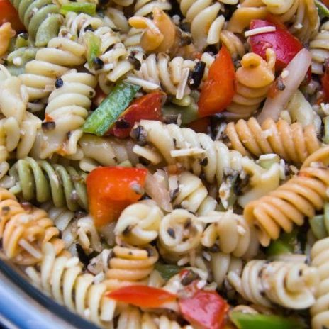 Lemon Herbed Pasta Salad